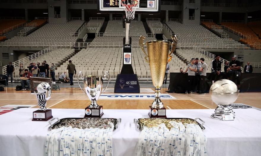 Λιόλιος για Κύπελλο: «Φέτος Final 4, του χρόνου Final 8»