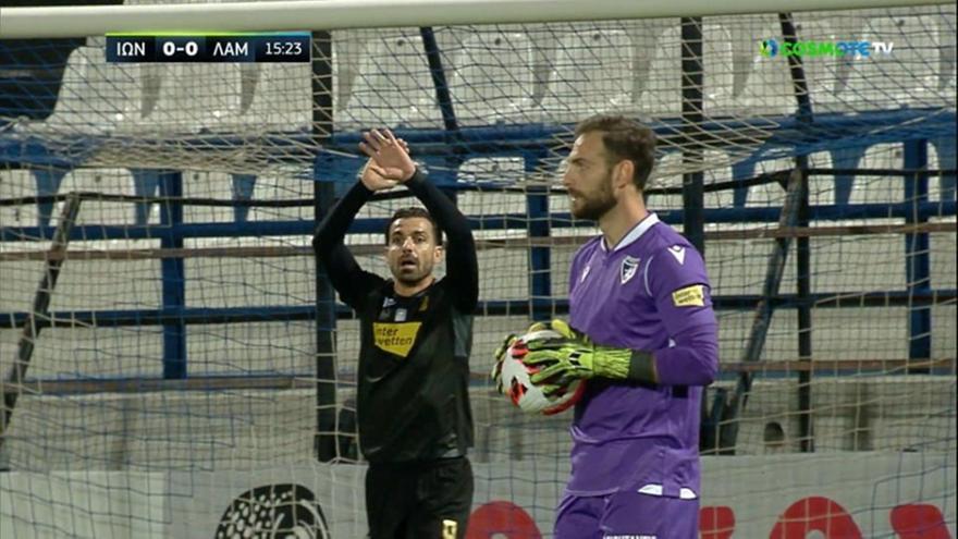 Το γκολ του Μανούσου με πέναλτι μετά από χέρι του Ντάλσιο