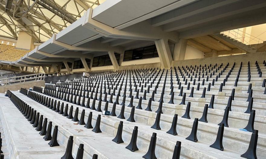 ΑΕΚ: Μπαίνουν καθίσματα και στη Σκεπαστή!