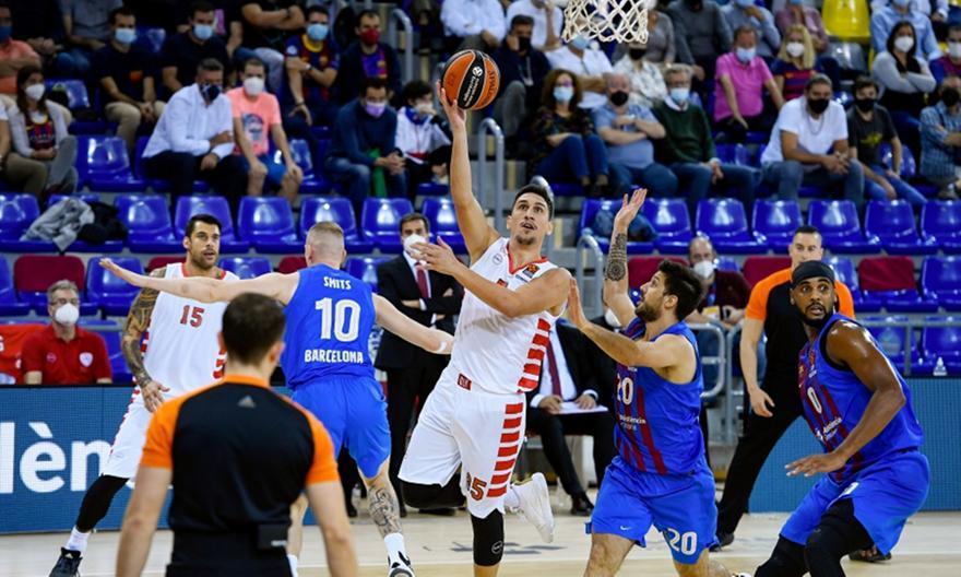 Μπαρτσελόνα-Ολυμπιακός: Τα highlights